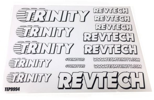 Trinity Revtech Sticker Sheets