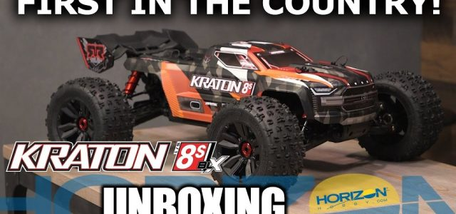 Unboxing Video: ARRMA KRATON 8S – First In The Country! [VIDEO]