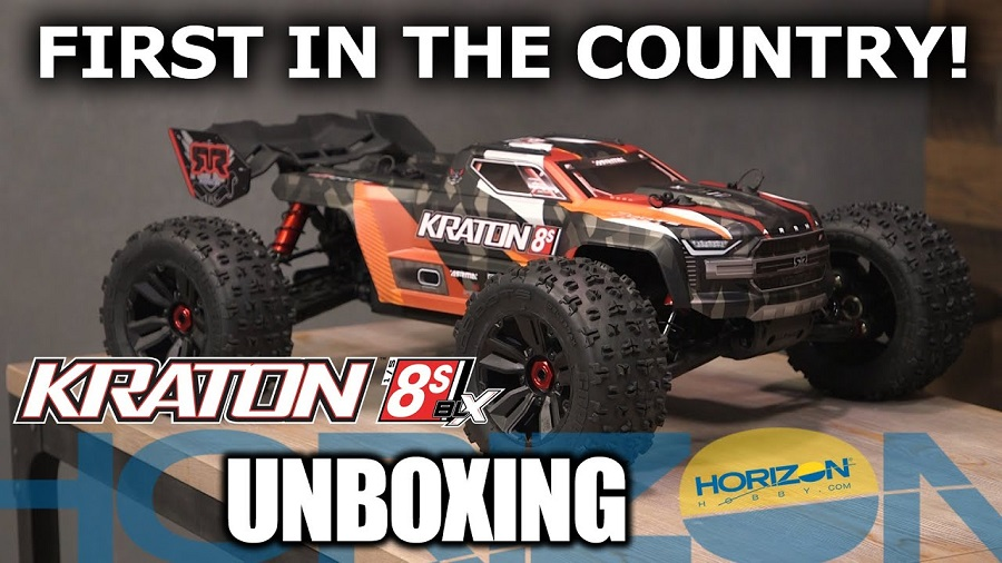 Unboxing Video: ARRMA KRATON 8S - First In The Country!