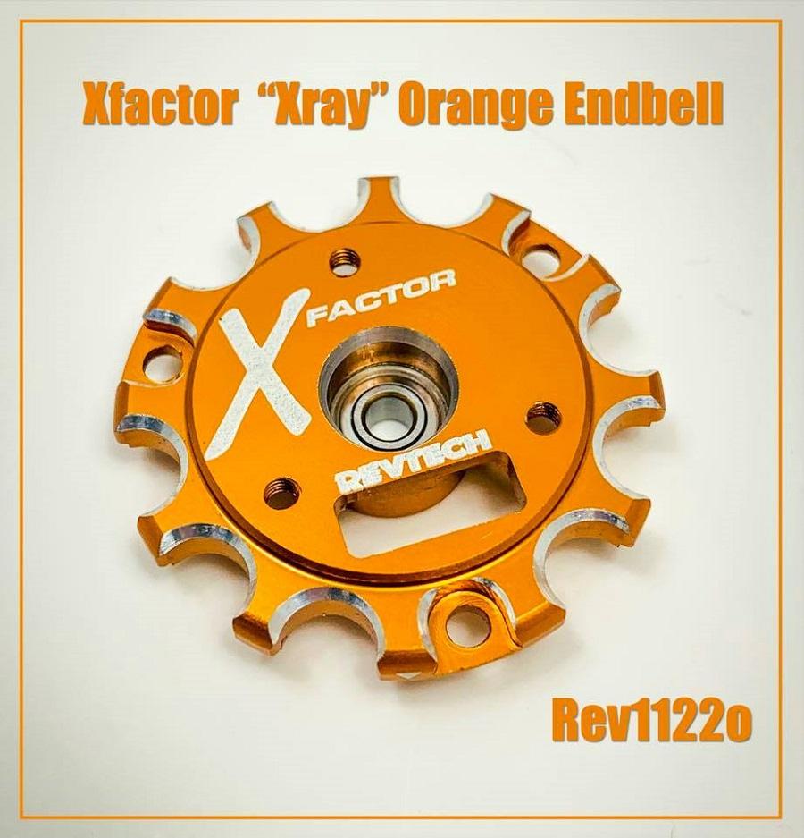 "X-Factor Xray ""Orange"" Endbell"