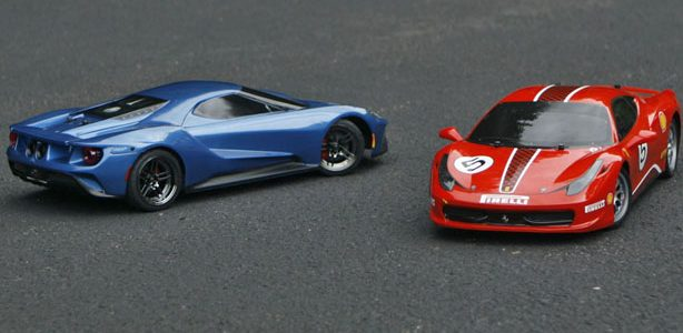 Ford v Ferrari—Rivals in Any Scale