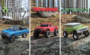 Best RTR Trail Truck? We Tested The Big Three to Find Out.