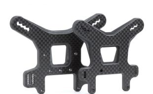Avid Carbon Shock Towers For The Tekno NB48 2.0