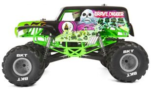 Axial 1/10 SMT10 Grave Digger 4WD Monster Truck RTR [VIDEO]