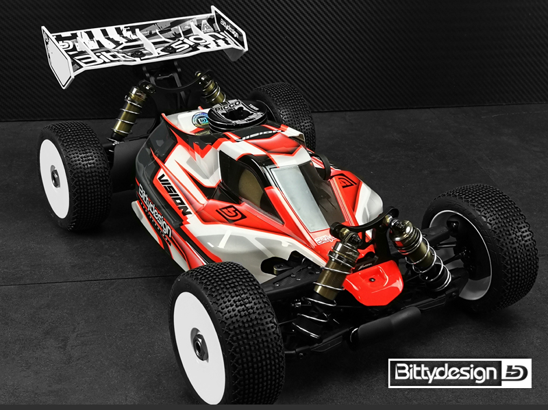 Bittydesign Pre-Cut VISION Clear Body For The SWORKz S35-3