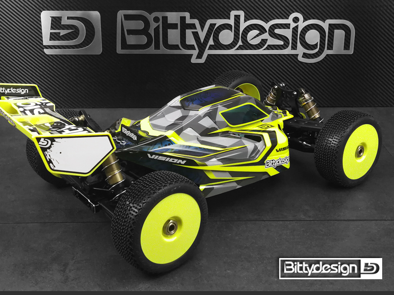 Bittydesign Pre-Cut VISION Clear Body For The SWORKz S35-3E