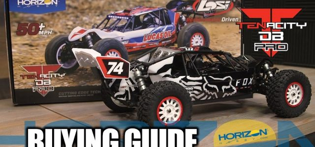 Buying Guide: Losi 1/10 Tenacity DB Pro 4WD Desert Buggy Brushless RTR [VIDEO]