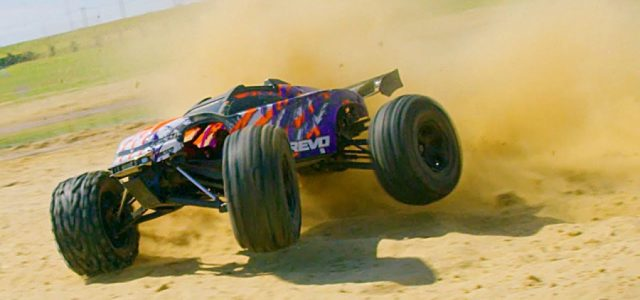 Extreme Speed Monster With The Traxxas E-Revo [VIDEO]