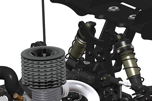 HB Racing D819RS 1/8 Nitro Buggy Kit