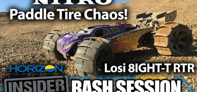 Horizon Insider Bash Session: Nitro Paddle Tire Chaos – Losi 8IGHT-T RTR [VIDEO]