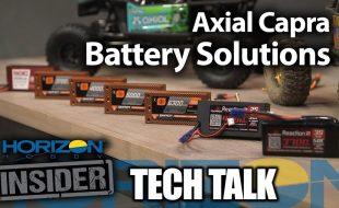 Horizon Insider Tech Talk: Axial Capra Battery Solutions [VIDEO]