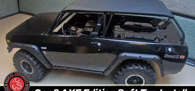 How To: Redcat Gen8 Scout II AXE Edition Soft Top Installation [VIDEO]