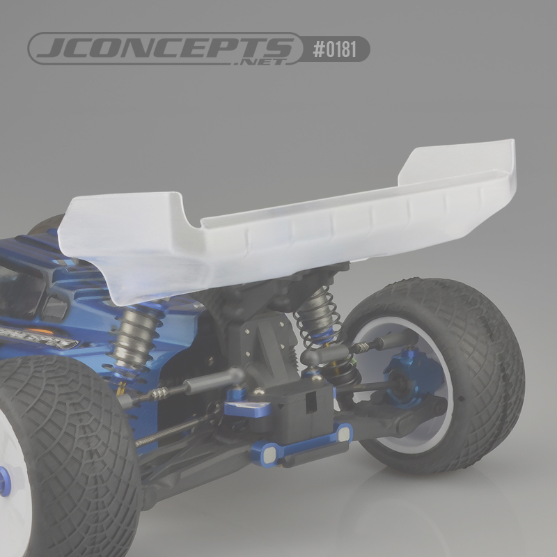 "JConcepts  Aero S-Type 7"" Rear Wing"