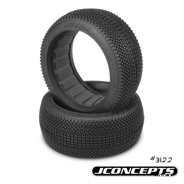 JConcepts Detox 18 Buggy Tires Now Available In Aqua Compound