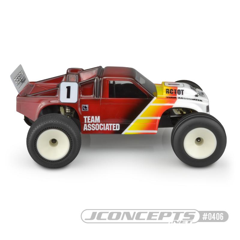 JConcepts Team Associated RC10T Team Truck Clear Body