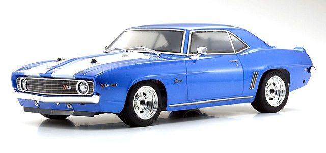 Kyosho FAZER Mk2 Series 1969 Chevy Camaro Z/28 [VIDEO]