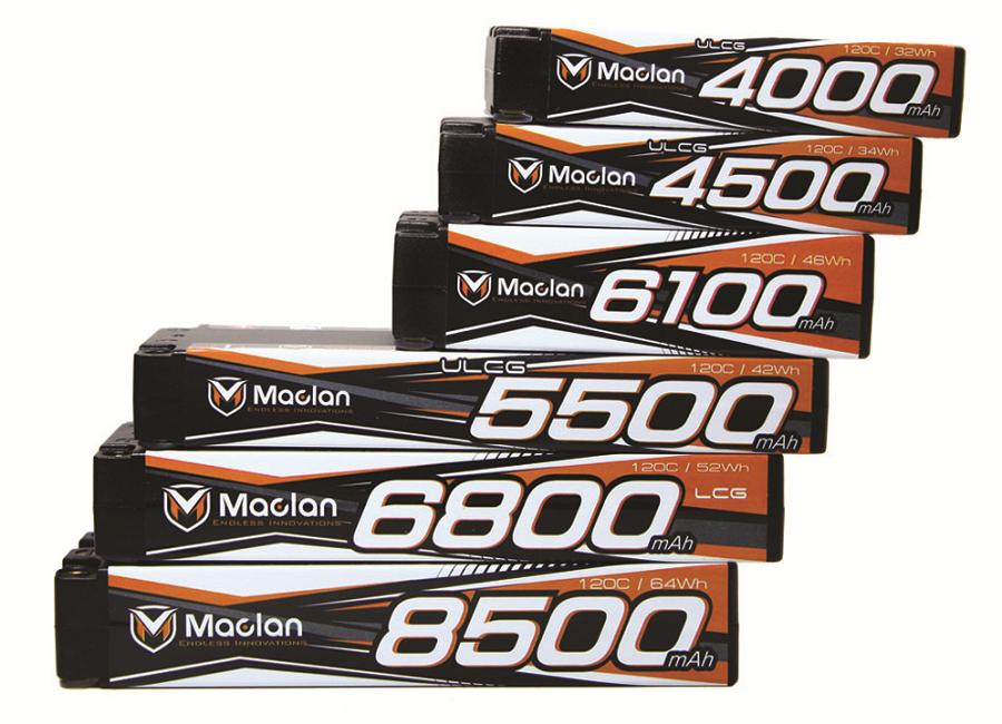 Maclan Racing Race Formula Graphene V3 Batteries