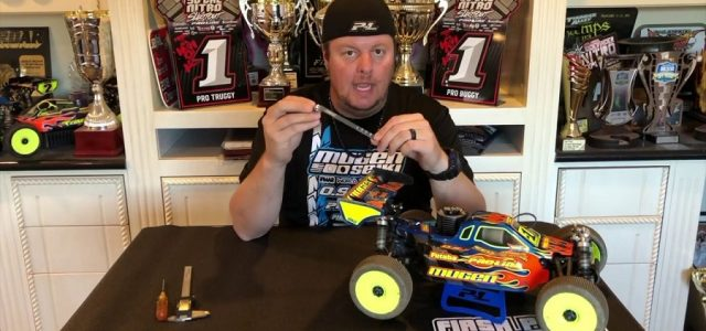 Mugen's Adam Drake Talks About The Mugen B0548 Droop Gauge [VIDEO]