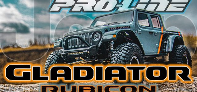 Pro-Line 2020 Jeep Gladiator Clear Body [VIDEO]