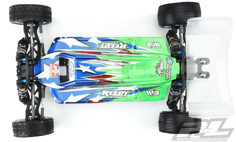 Pro-Line Axis Light Weight Clear Body For The AE B74
