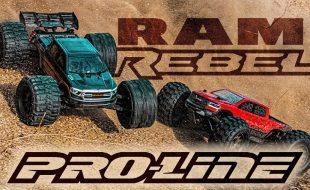 Pro-Line Pre-Cut 2020 RAM Rebel 1500 Clear Bodies [VIDEO]