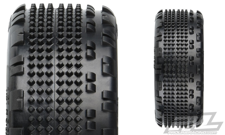 "Pro-Line Prism 2.0 2.2"" 4WD Off-Road Carpet Buggy Front Tires"