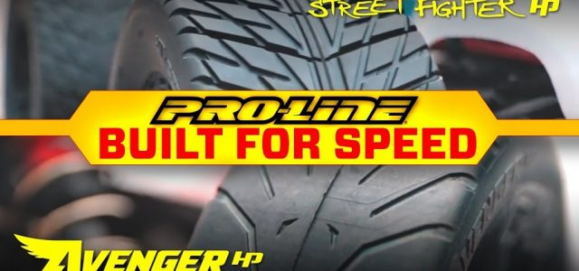 Pro-Line Street Fighter HP 3.8″ & Avenger HP BELTED Street Tires [VIDEO]