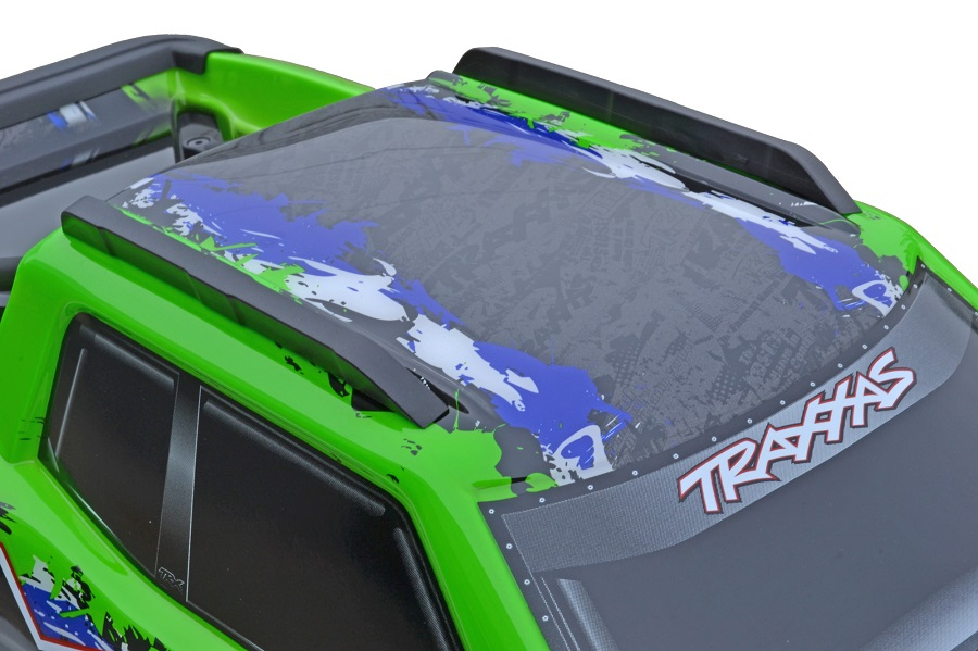 RPM Roof Skid Rails For The Traxxas X-Maxx