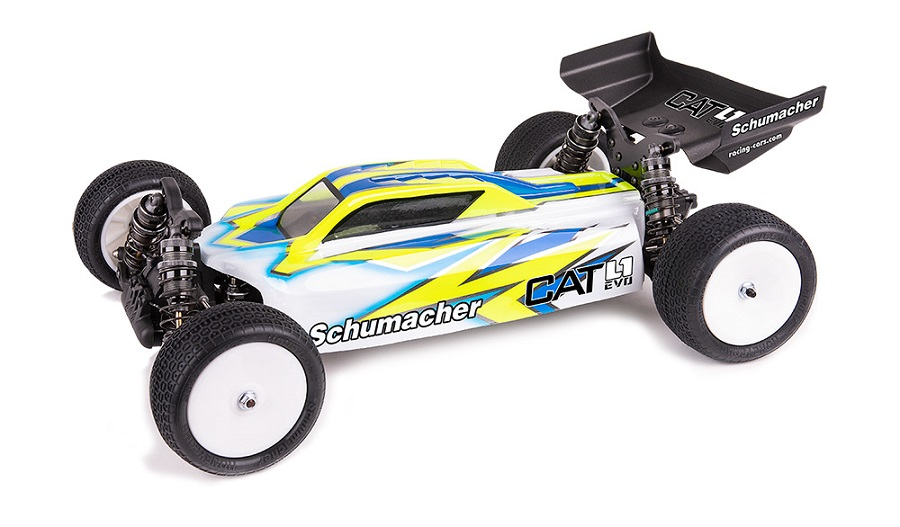 Schumacher CAT L1 EVO 1/10 4WD Electric Buggy Kit