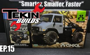 Tekin Builds Ep. 15 – Axial UMG10 Chassis Assembly [VIDEO]