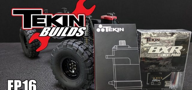 Tekin Builds Ep. 16 – UMG10 Electronics Install & Final Chassis Assembly [VIDEO]