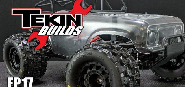 Tekin Builds Ep. 17 – Pro-Line Pro-MT 4×4 Monster Truck Electronics Install [VIDEO]