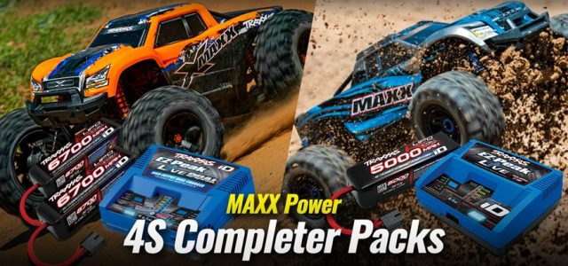 Traxxas 4S Completer Packs For The X-Maxx & Maxx