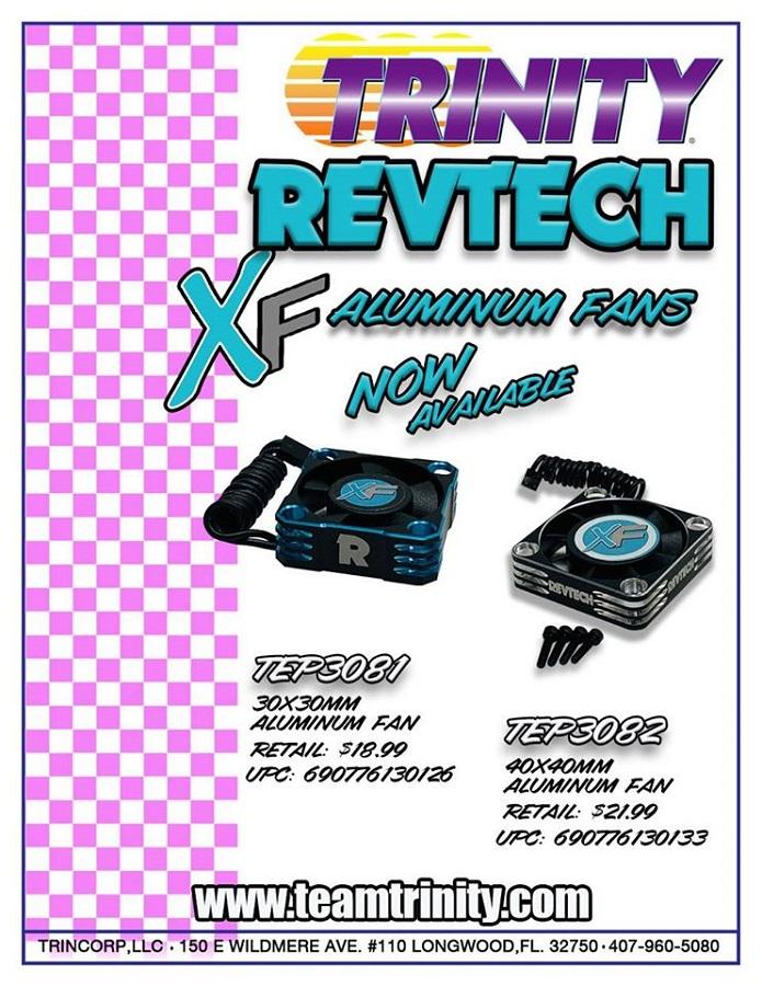 Trinity Revtech XF Aluminum Fans