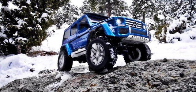 Winter Wonderland With The Traxxas Mercedes-Benz G 500 4×4² [VIDEO]