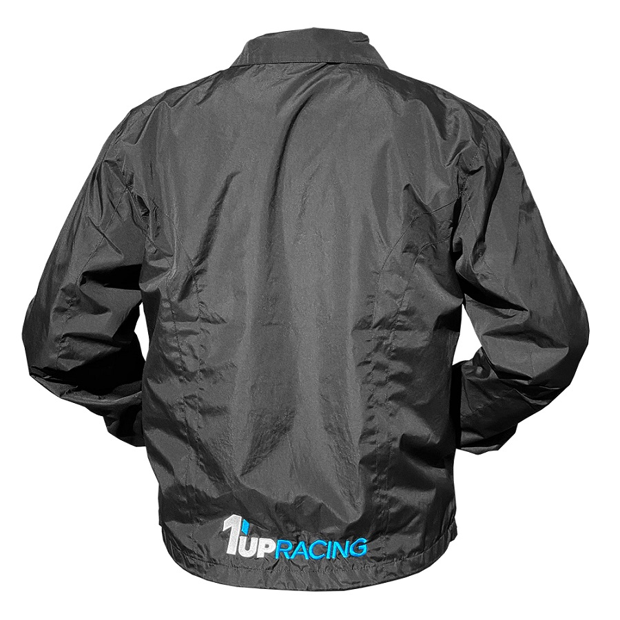 1up Racing Embroidered Windbreaker Jacket