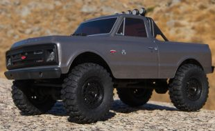Axial SCX24 1967 Chevrolet C10 4WD Truck Brushed 1/24 RTR [VIDEO]