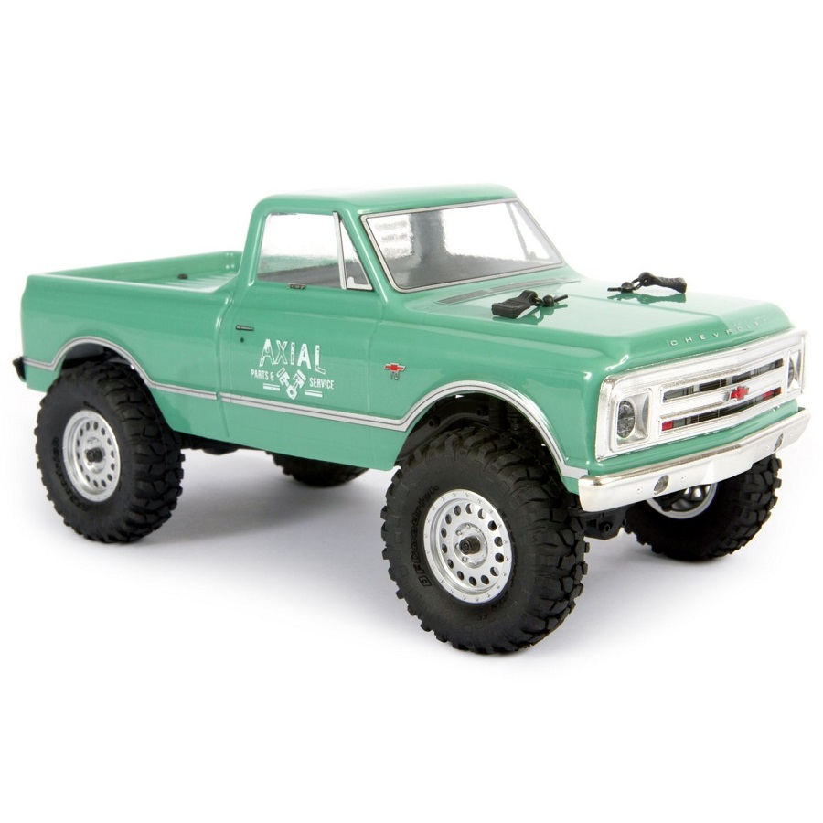 Axial SCX24 1967 Chevrolet C10 4WD Truck Brushed 1/24 RTR