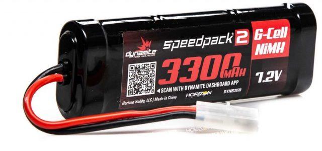 Dynamite Speedpack 2 NiMH Sport Packs