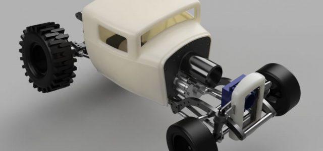 Custom 3D-Printed Hot Rod Sample Readers Ride