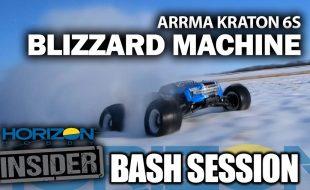 Horizon Insider Bash Session: ARRMA Kraton 6s – Blizzard Machine [VIDEO]