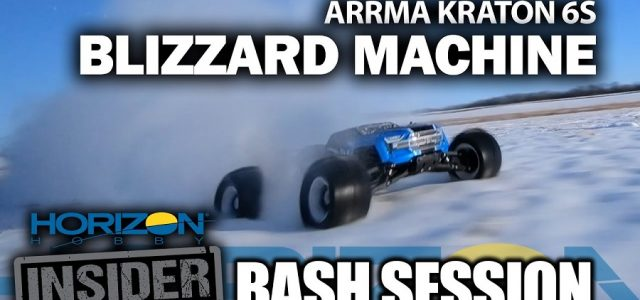 Horizon Insider Bash Session: ARRMA Kraton 6s – Blizzard Machine [VIDEO]