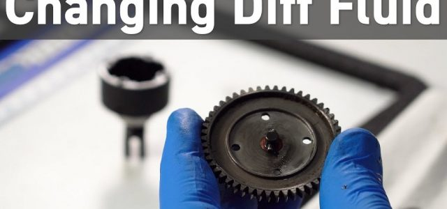 How To Change Gear Differential Fluid In An RC Car [VIDEO]