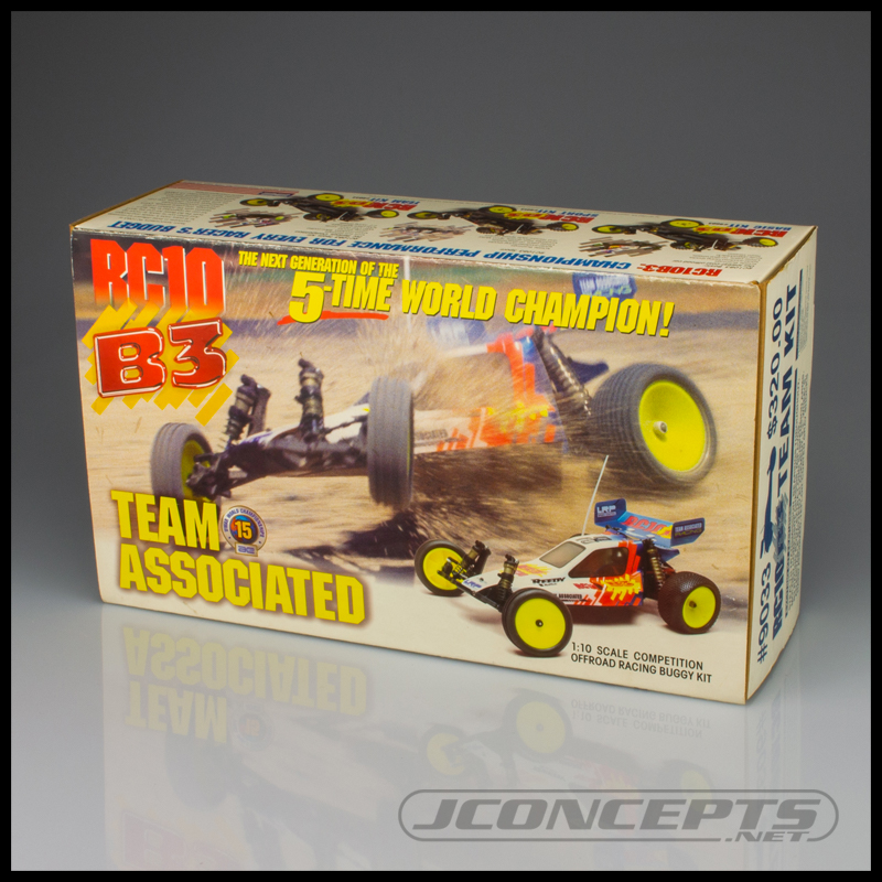 JConcepts Clear Body For The Team Associated RC10B3