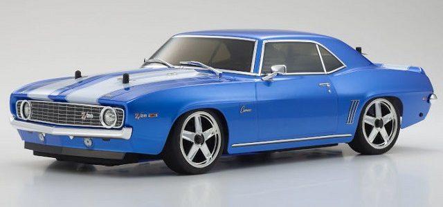 Kyosho FW06 1969 Camaro Z/28 Blue 4WD Readyset