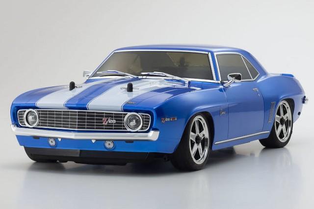 Kyosho FW06 1969 Camaro Z28 Blue 4WD Readyset
