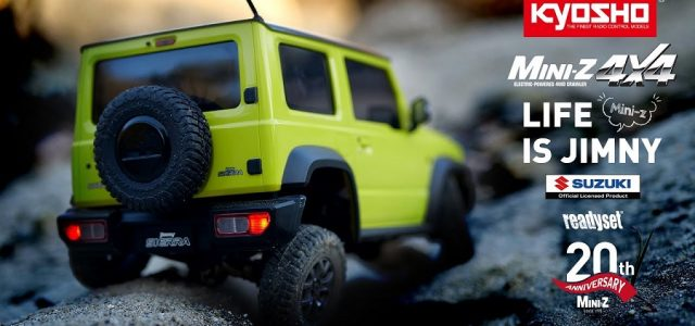 Kyosho Mini-Z 4×4 Readyset Suzuki Jimny Sierra [VIDEO]