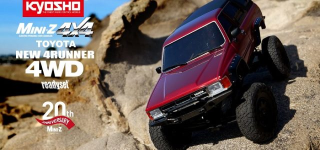Kyosho Mini-Z 4×4 Readyset Toyota 4Runner (Hilux Surf) [VIDEO]