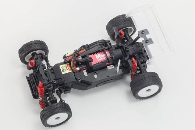 Kysoho MINI-Z Buggy VE 2.0 FHSS Inferno Clear Body Chassis Set