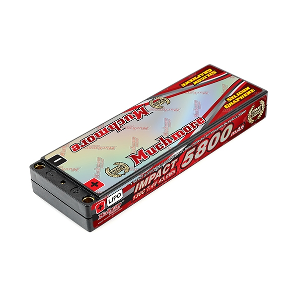 Muchmore IMPACT Silicon Graphene Super LCG FD4 5800mAh 130C LiPo Battery